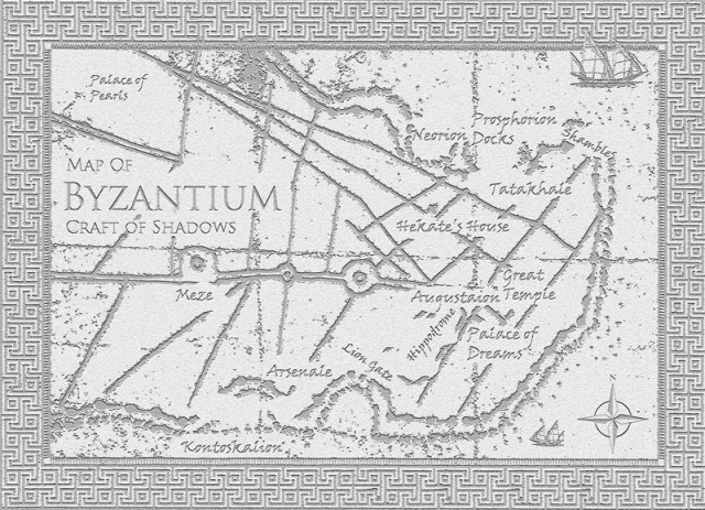 Map of Byzantium - Craft of Shadows - God of Thieves